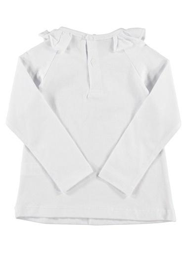 Zeynep Tekstil Bluz Beyaz